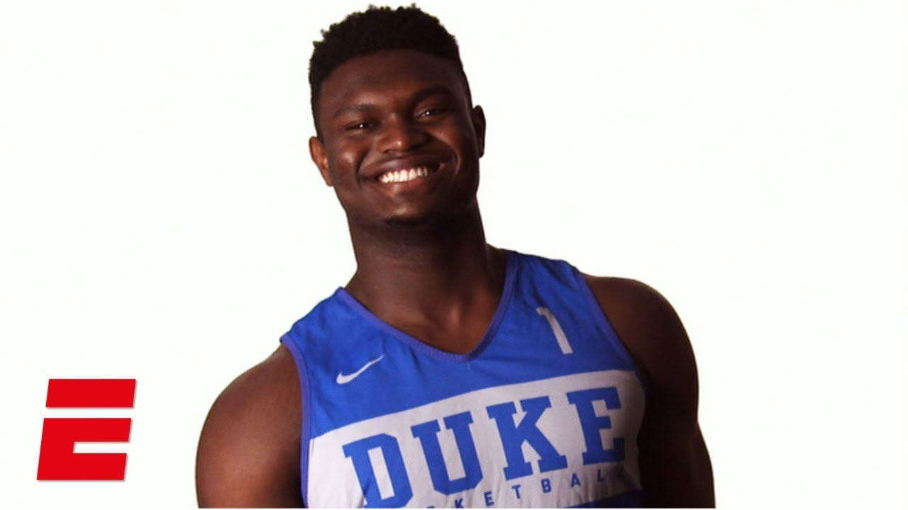 Zion Williamson Ready To Live Up To Enormous Hype At Duke