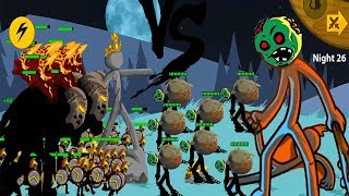 Stick War Legacy Endlles Mode Zombie APK 2018: HACK UNLIMITED GEMS FHD # Night 1