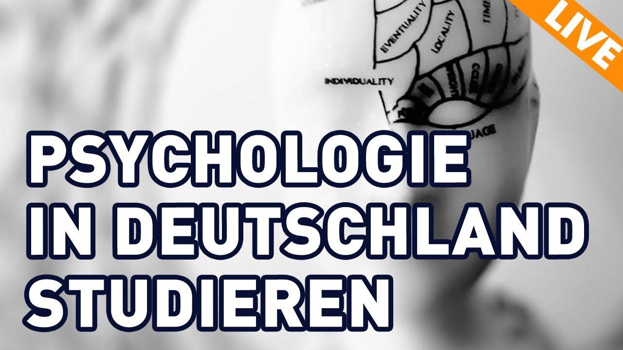 Psychologie In Deutschland Studieren Nicht Verzagen