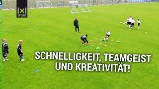Vier gewinnt: Jugend-Fußballübung aus dem NLZ des TSV 1860 München