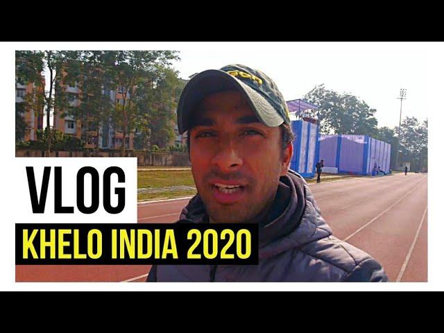 Khelo India🇮🇳 Games 2020 vlog | Coach karan vlogs #2