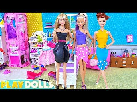 Barbie Girl Dolls Fashion Balloon Designs Clothes DYI!