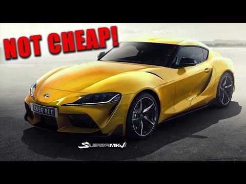 New 2020 Toyota Supra Price