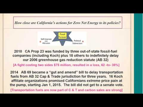 Bill Martin on California ZNE Policy