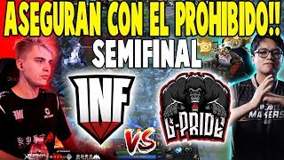 "¡SEMIFINAL! Infamous vs G-Pride [Game 3] - ""Aseguran Con El Prohibido"" - EPICENTER MAJOR DOTA 2"
