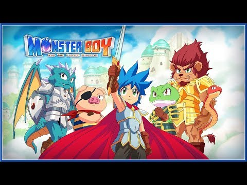 MONSTER BOY : And The Cursed Kingdom - ACCOLADES Trailer (Switch, PC, PS4 & XB1) HD thumbnail