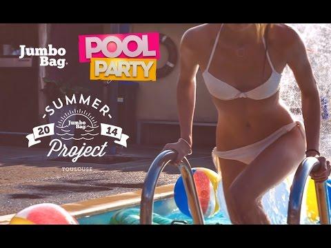 Jumbo Bag Pool Party - summer 2014