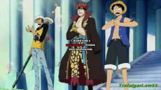 One Piece Amv - Law, Kid & Luffy Vs Soldados De La Marina (archipelago Sabaody)
