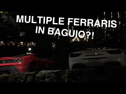 FERRARIS Spotted in BAGUIO!! || VLOG # 12