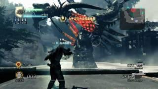 ロストプラネット2 ボス クイーン戦 LostPlanet 2 Boss Queen battle