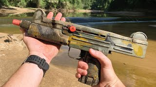 Searching for Potential Murder Weapons in a Shallow Canal! (5 Toy Guns, 3 Phones and More)