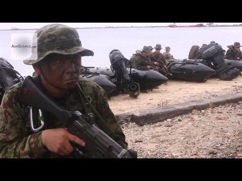Japanese Ground Self-Defense Force, U.S. Marines Conduct Amphibious Raid on Guam Beach | AiirSource