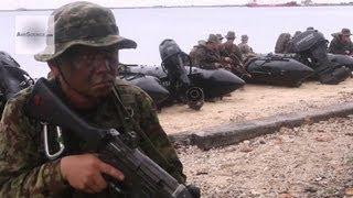 Japanese Ground Self-Defense Force, U.S. Marines Conduct Amphibious Raid on Guam Beach | AiirSource