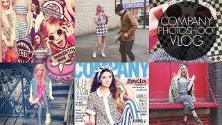 VLOG // Company Magazine Photoshoot | 24th Jan 2014 Thumbnail