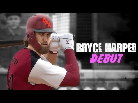 BRYCE HARPER DEBUT! *Road To Goat Squad* MLB The Show 18 | Ranked Seasons #5