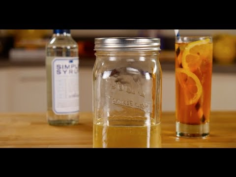 Fast Simple Syrup Recipe | Cocktail Recipe | Happiest Hour