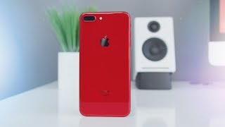 Product RED iPhone 8 Unboxing!