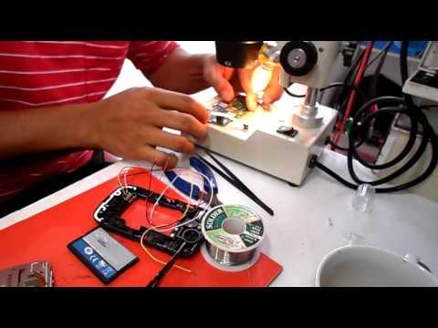 reparacion nokia c2-02 no da power pero si carga