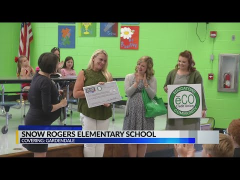 One class at a time: Snow Rogers elementary school