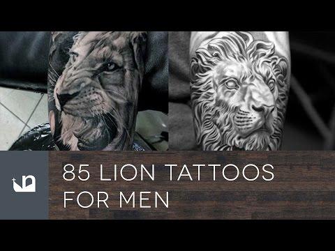 85 Lion Tattoos For Men