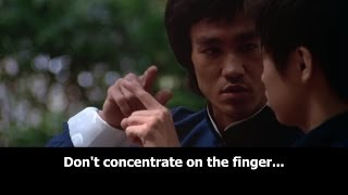 Bruce Lee - finger pointing at the moon (1080p, subtitles, commentary)