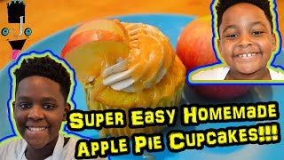 Super Easy Apple Pie Cupcakes - How to