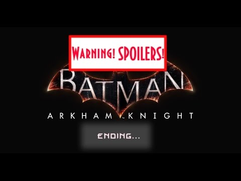 Batman: Arkham Knight PC - Все концовки   Финал   All endings