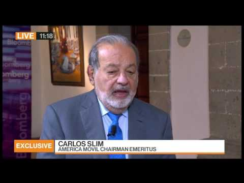 Carlos Slim on President Trump: 'I'd Be More Worried If I Were American'