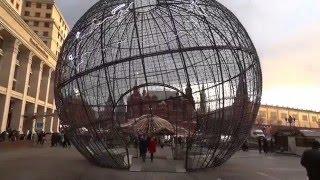 видео Красная площадь на Новый год 2018