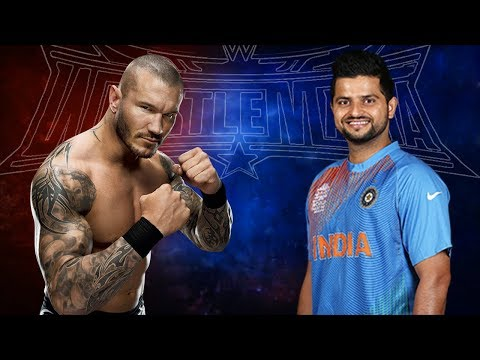 Suresh Raina VS Randy Orton - Backstage Brawl
