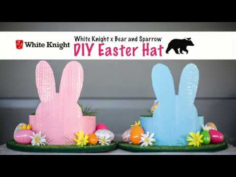 How To Make An Easter Hat With Bear And Sparrow Youtube