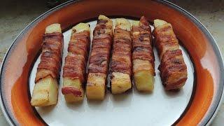 Bacon Wrapped Potato In A Contact Grill / Baconlindad Potatis I Kontaktgrillen