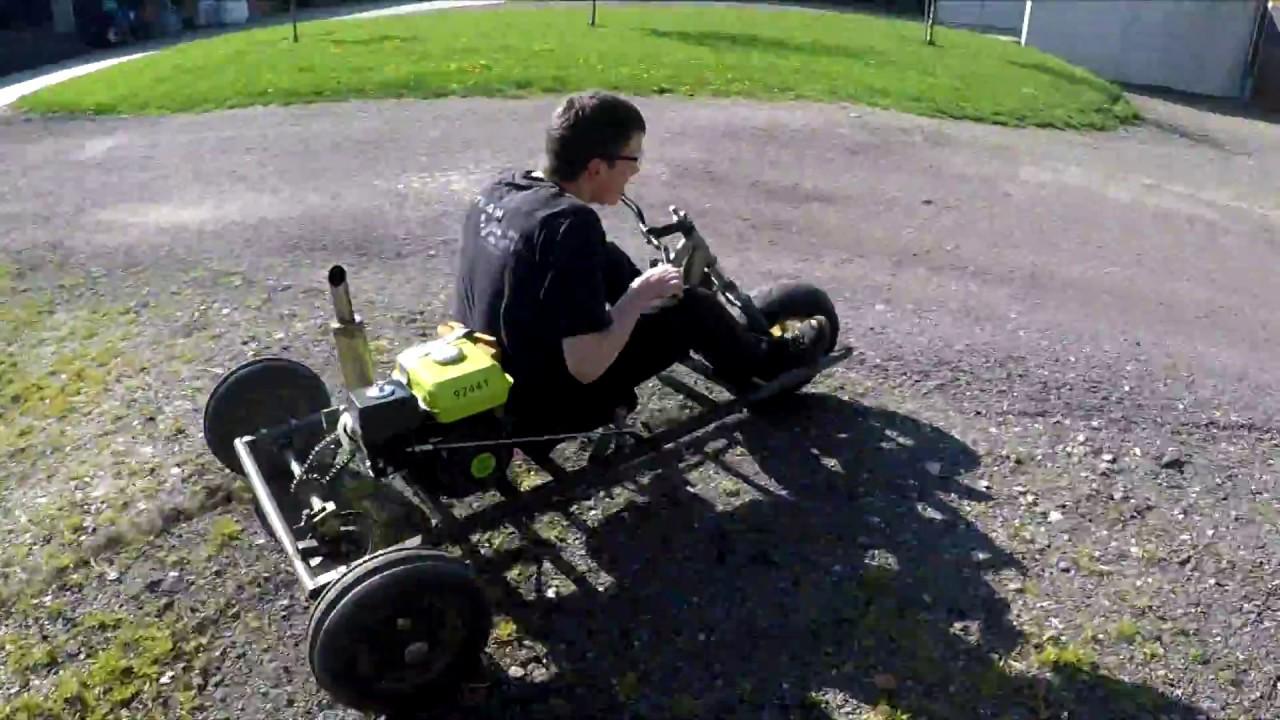 Kart 3 Roues Maison Youtube
