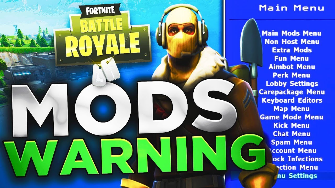 Fortnite Battle Royale Mods Aimbot Warning Must Watch Youtube