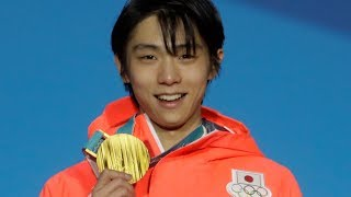 Yuzuru Hanyu has an extra special place in history of the Olympic Games with the 1,000th gold medal