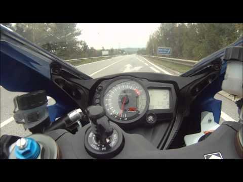 Suzuki GSX-R 1000 K7   0-300 km/h HD