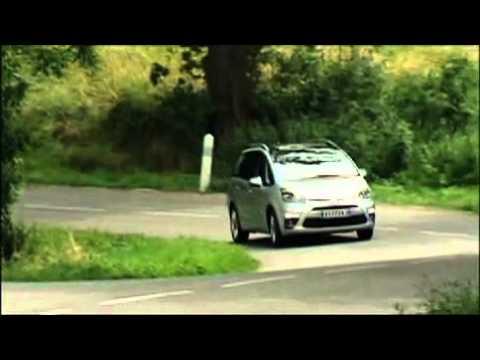 Grand Citroen C4 Picasso Test Drive - YouTube