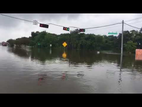 Getting out of Friendswood because of Harvey.