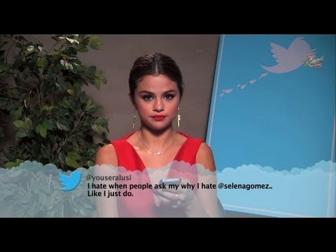 Demi and Selena Read Mean Tweets on Kimmel!