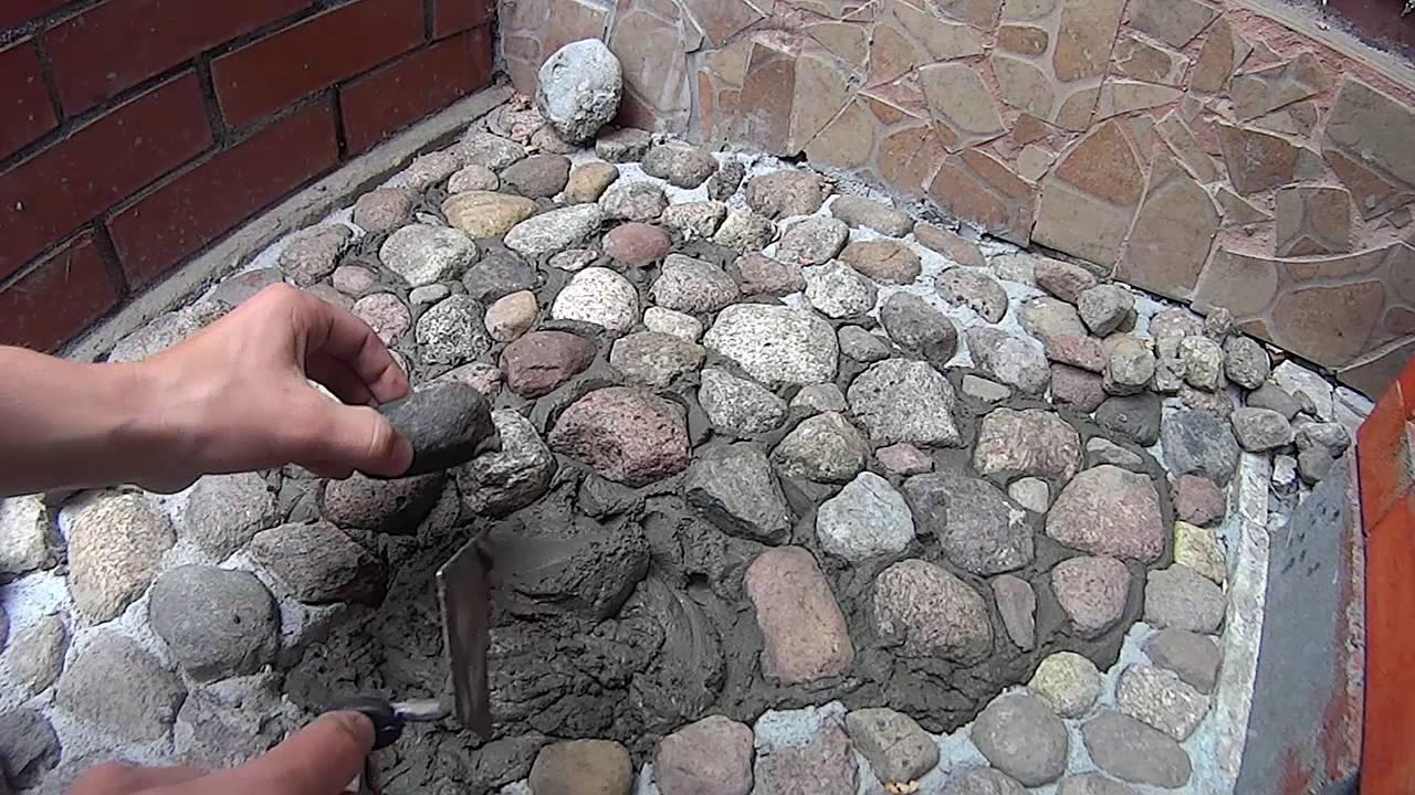 Jak Zrobic Chodnik Z Kamieni Mozaika Z Kamieni Youtube
