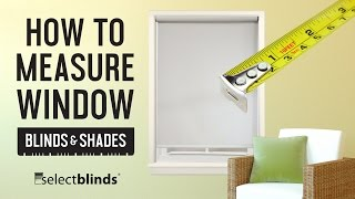 How to Measure Window Blinds and Shades | SelectBlinds.com Mp3