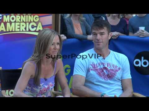 Trista Sutter and Ryan Sutter at the 'Good Morning Americ...