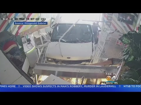 Van Carrying Children Plows Into North Miami Restaurant