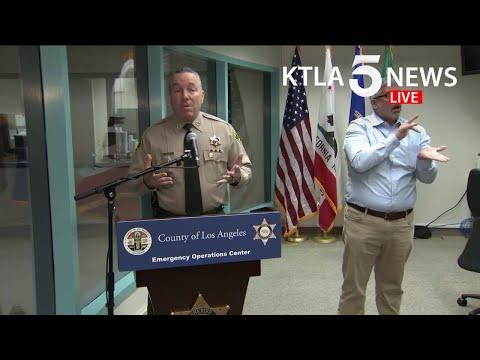 Coronavirus: L.A. County Sheriff To Address COVID-19 Response