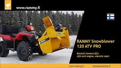 Rammy Snowblower 120 ATV PRO