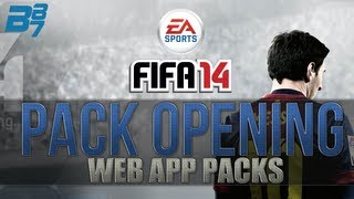 FIFA 14 Ultimate Team Pack Opening   Lets Begin With Web App Packs! #1