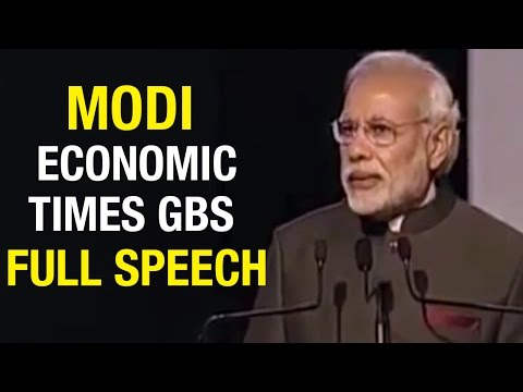 PM Modi address The Economic Times Global Business Summit - Full Speech