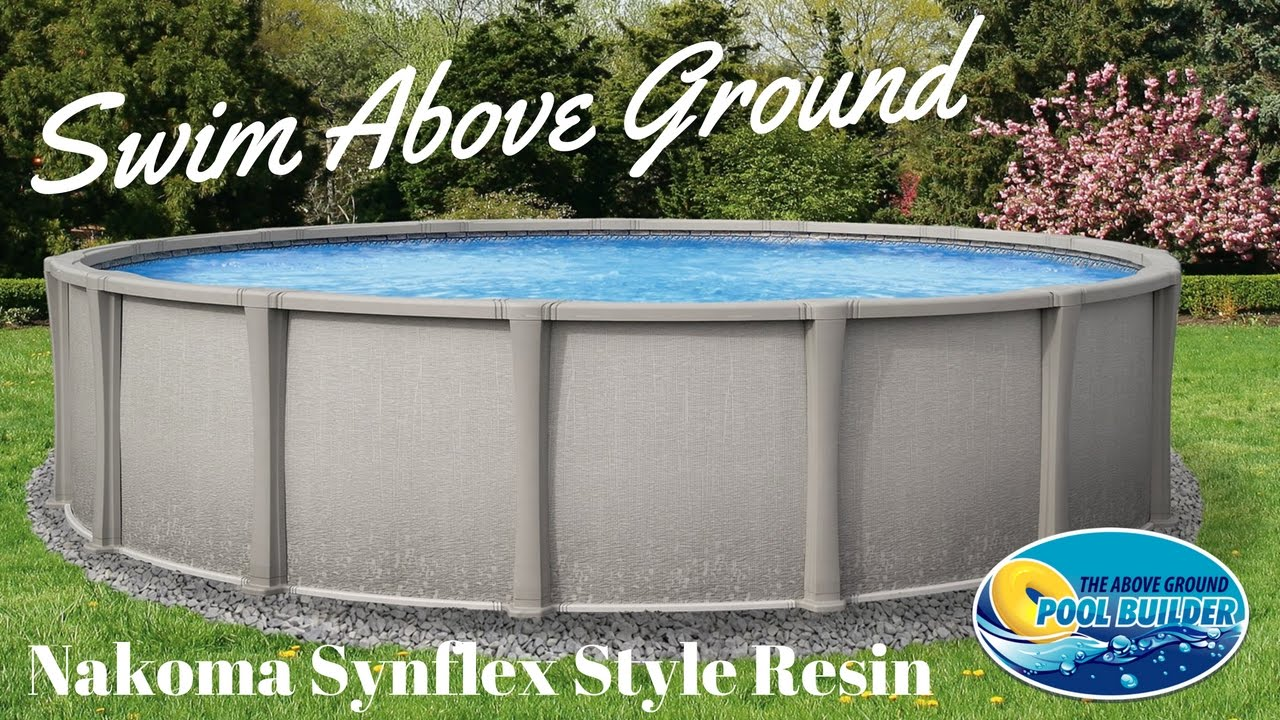 ☑️Nakoma Above Ground pool - YouTube