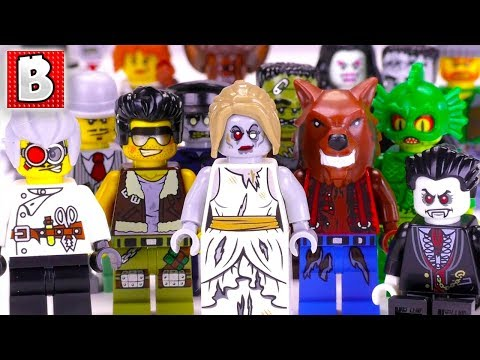 HAPPY HALLOWEEN! Every LEGO Monster Fighters Minifigure EVER MADE!!! | Collection Review