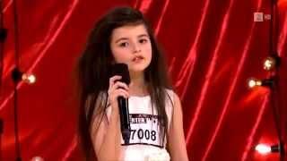 у 7 летней девчонки очень необычный голос!